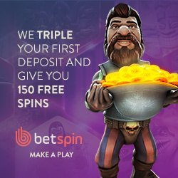 Betspin Casino Bonus