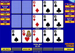 Triple Play Draw Poker Multi-Hand