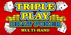 Triple Play Draw Poker Multi-Hand
